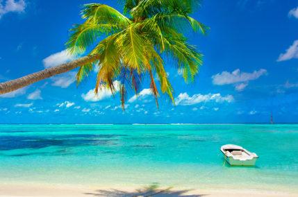Nel blu di Mauritius